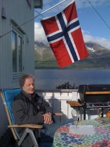 Vi flagger for ny kai på Vorterøya