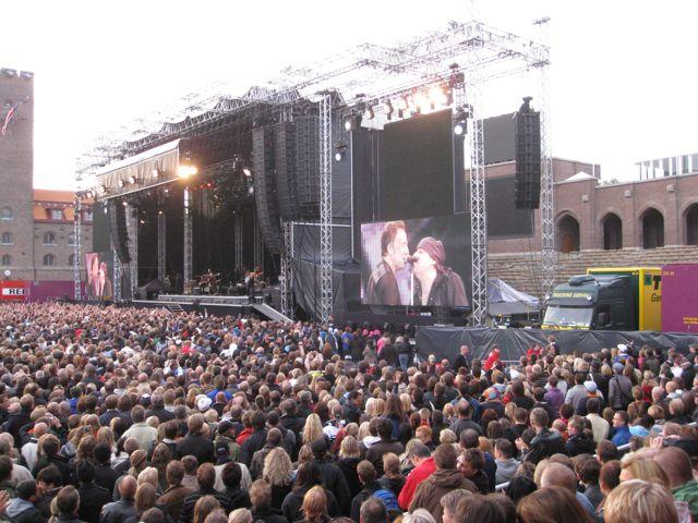 Konsert med Bruce Springsteen i Stockholm juni 2009