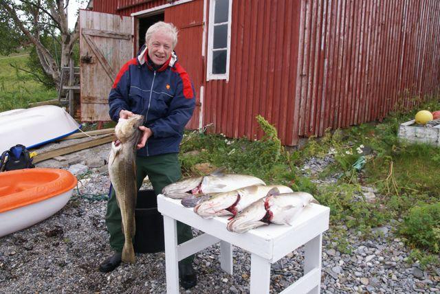 Fin fangst, torsk.