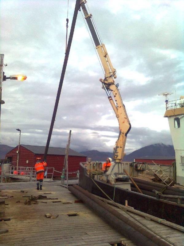 Ny kai på Vorterøya