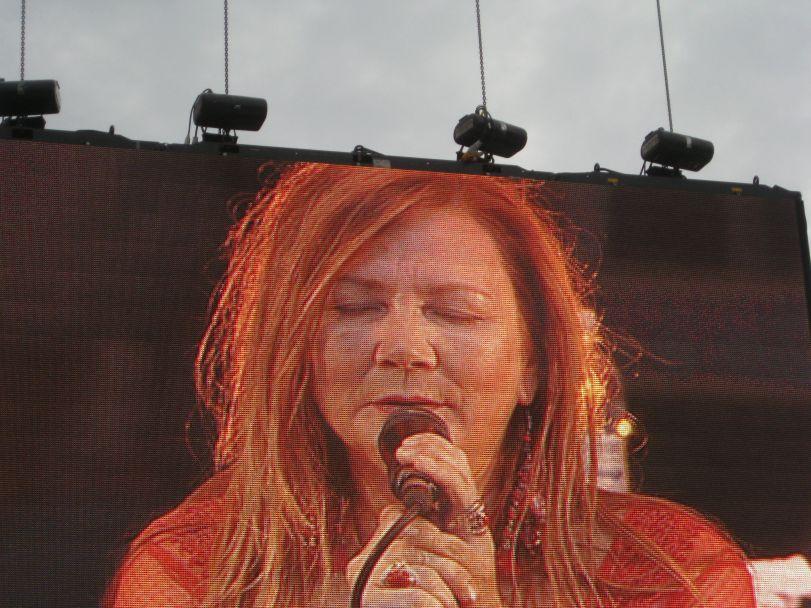 Mari Boine på Valhall. Foto: J.K. Bless