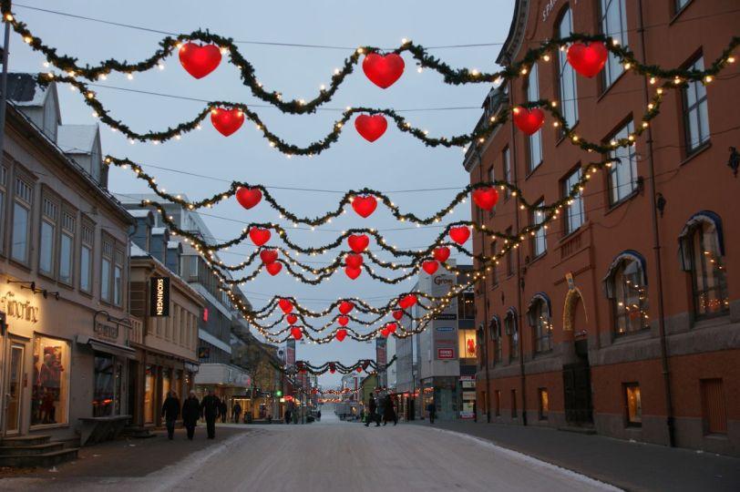 Julegate Tromsø- Foto: R.T. Enoksen