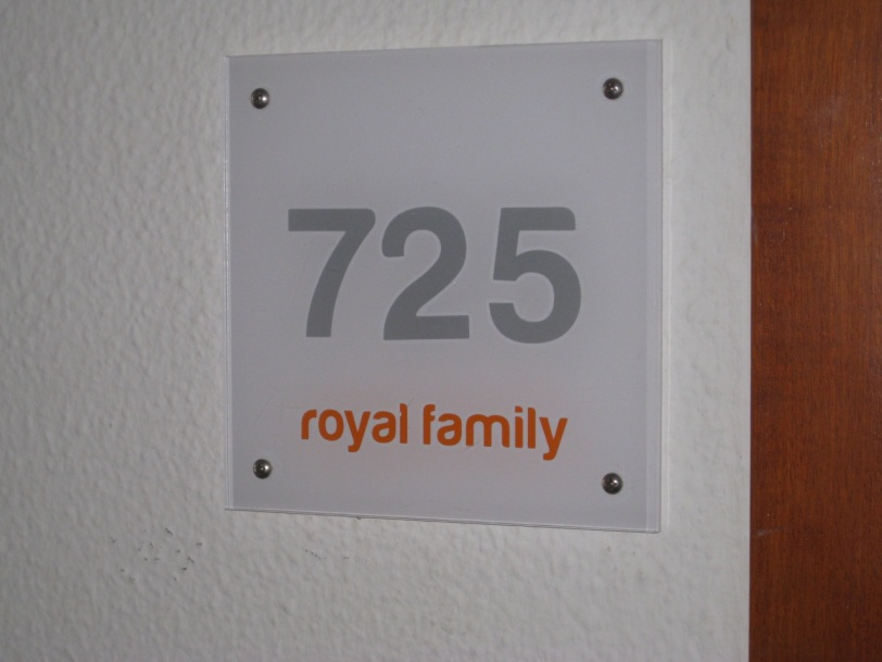 "Vi bodde ""royalt"" og var fornøyd med det."