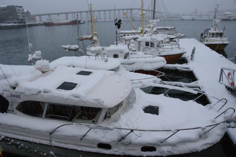 Tromsø havn. Foto: R.T. Enoksen
