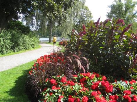 Vakkert på Djurgården