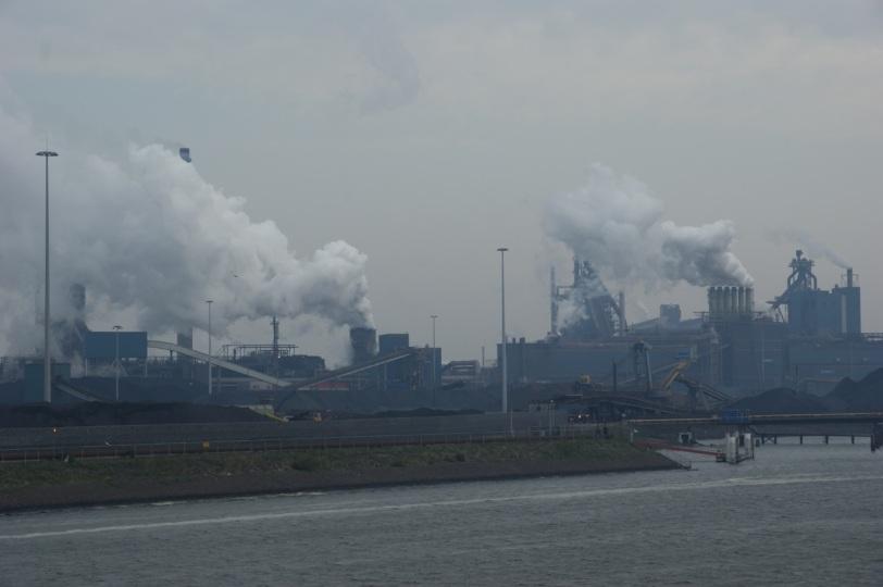 Fabrikkrøyk i Amsterdam