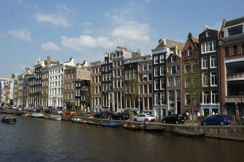 Amsterdam langs kanalen