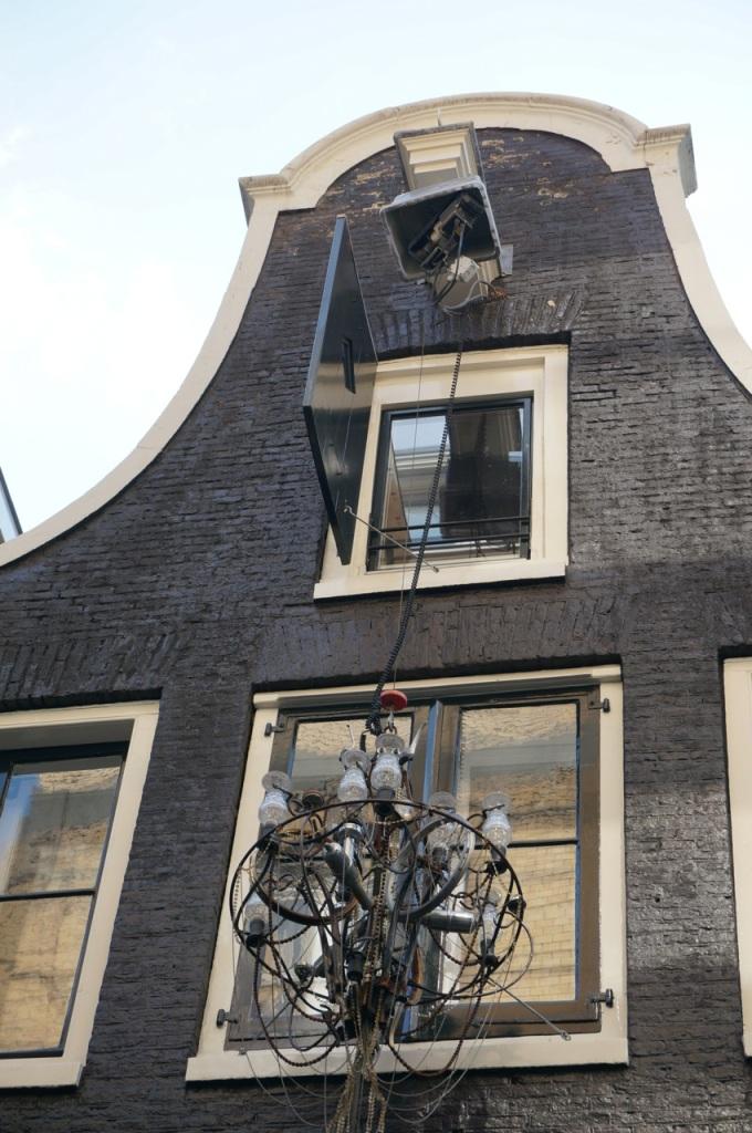 Amsterdam Lysekrone ute