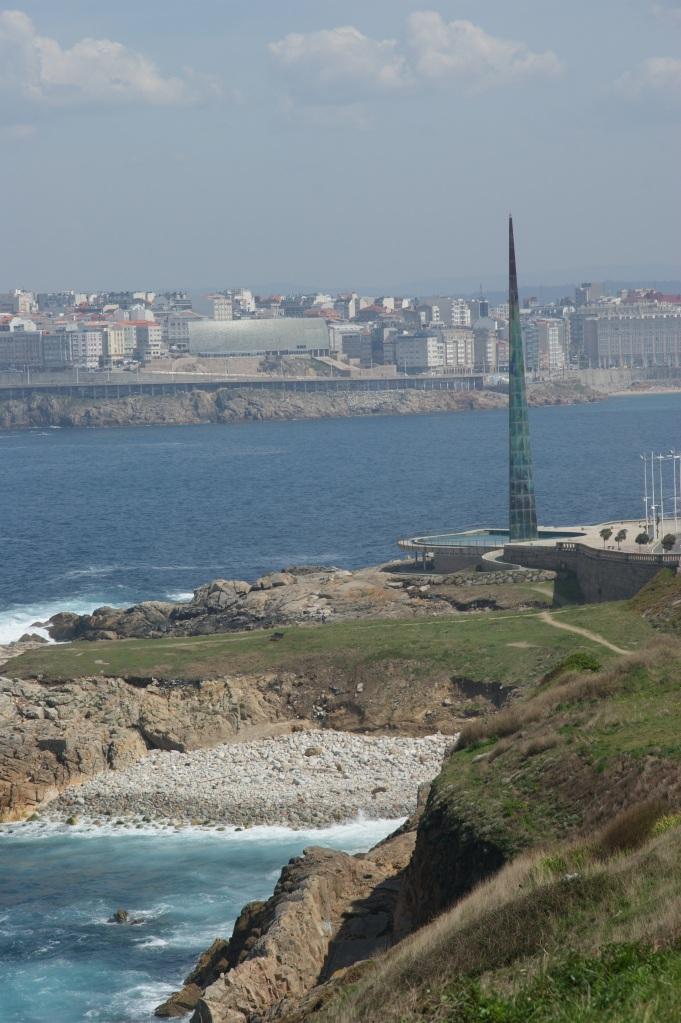 Utsikt mot La Coruna