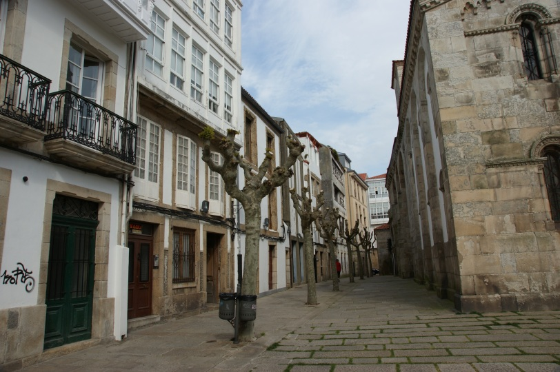 La Coruna gamlebyen
