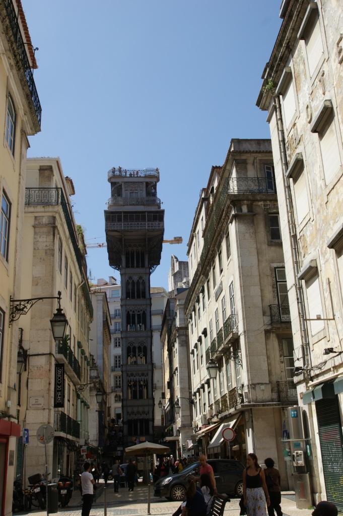 Elevador Santa Justa i Lisboa
