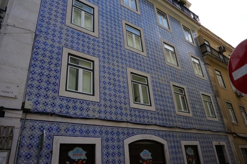 Lisboa Fasade med fliser