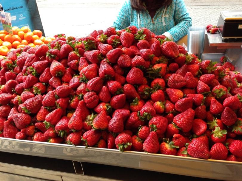 Lisboa Jordbær i mengder