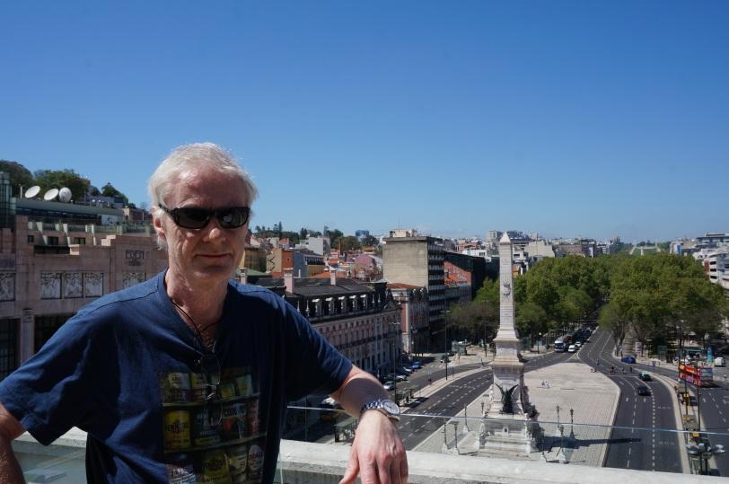Lisboa På hotellets takterrasse