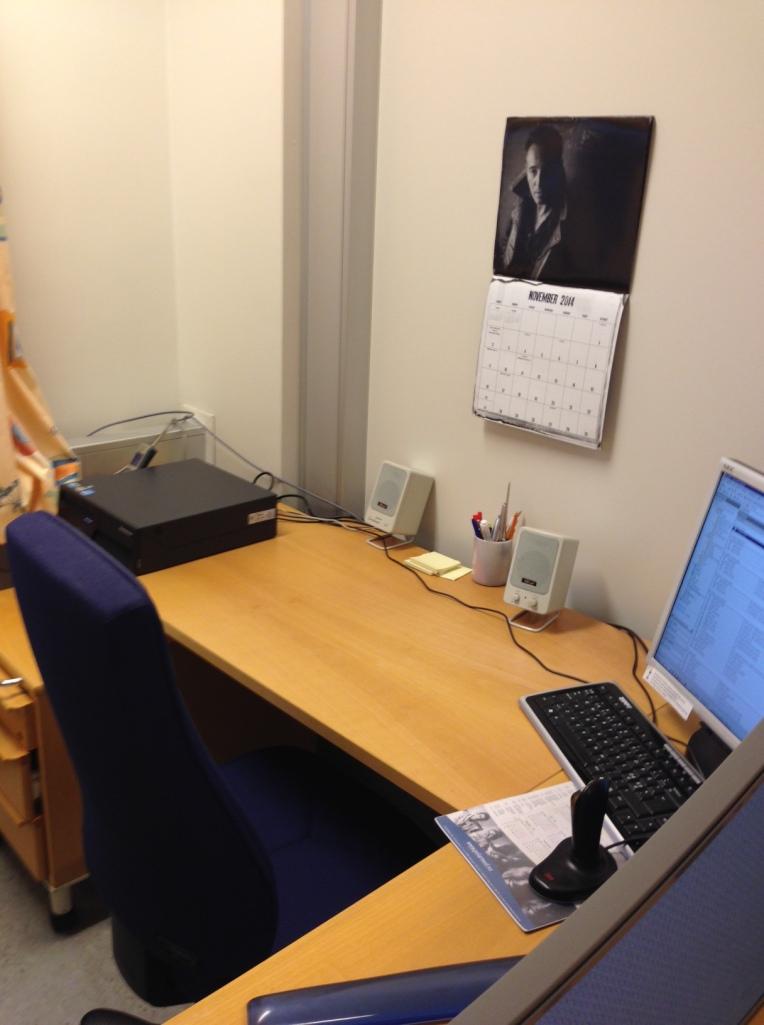 Ryddig skrivebord