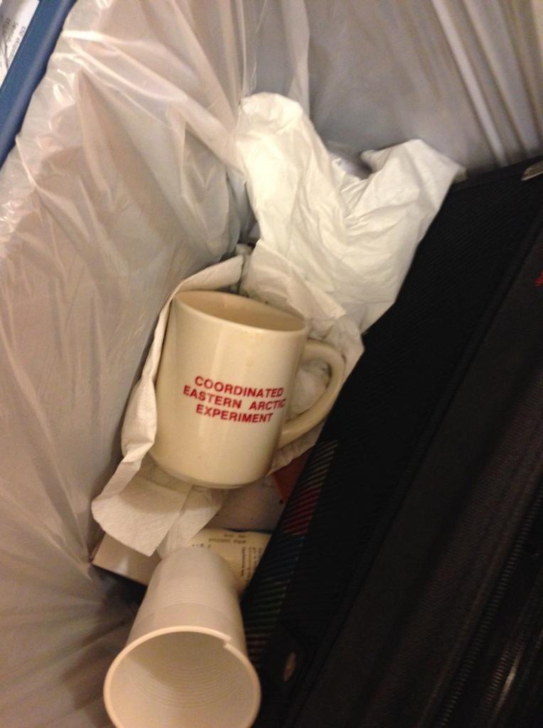 Tekoppen i søpla