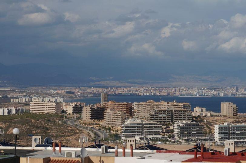 Utsikt mot Alicante