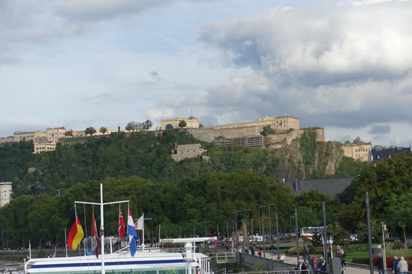Koblenz festningen