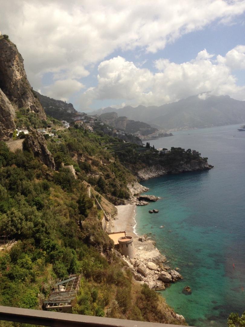 På tur til Amalfi