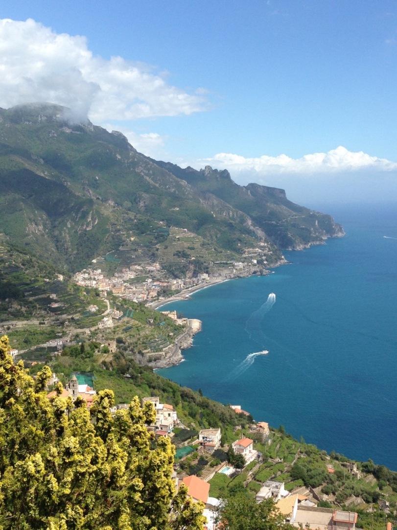 Utsikt fra Ravello 2