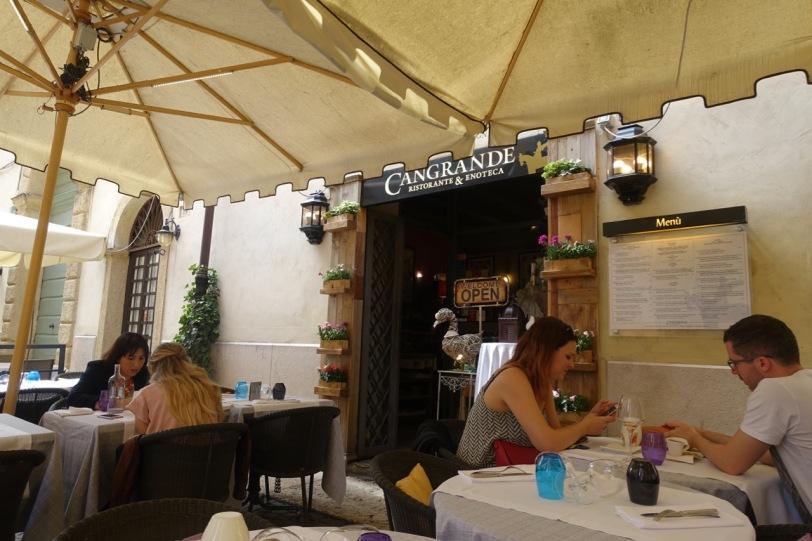 Cangrande restaurant
