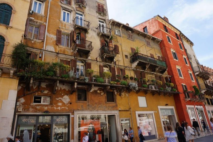 Italiensk fasade