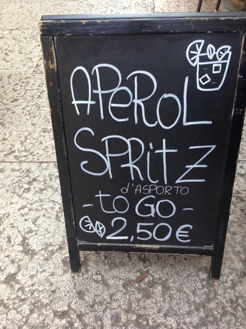 Spritz to go